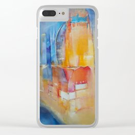 """City"" by Diana Grigoryeva Clear iPhone Case"