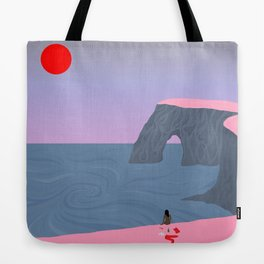 Stripped Tote Bag
