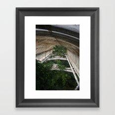 Canopy Green Framed Art Print