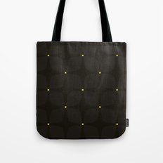 Black Jasmine Tote Bag