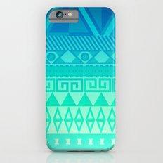 Blue Mayan Slim Case iPhone 6s