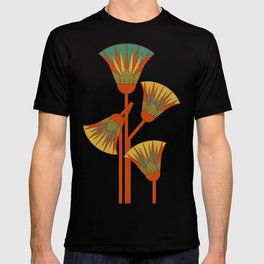 Ancient Egyptian lotus - Colorful T-shirt