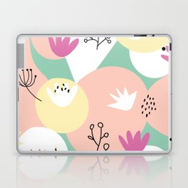 Pop of Color and Doodles Laptop & iPad Skin