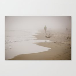 Fog on the Water. Canvas Print