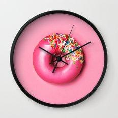 Donut 2 Wall Clock