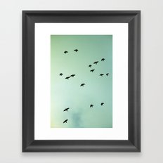 Art Of Flight #1 Framed Art Print
