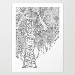 Wishing Tree Art Print
