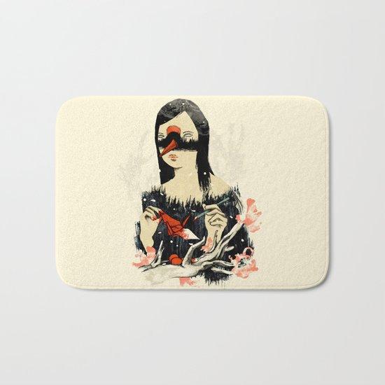 The Crane Wife Bath Mat
