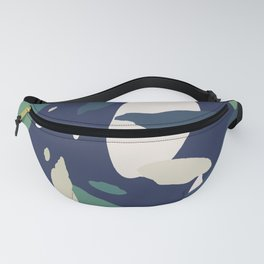 Pattern Abstrait Formes Colors Tropical Fanny Pack