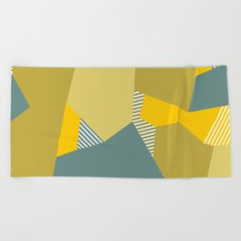 Olive to the Max Beach Towel