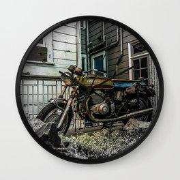 Backyard Benelli Wall Clock