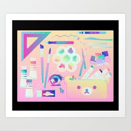 Artists' Aresenal Art Print