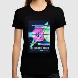 Grand Tour - NASA Space Travel Poster (Alternative) T-shirt