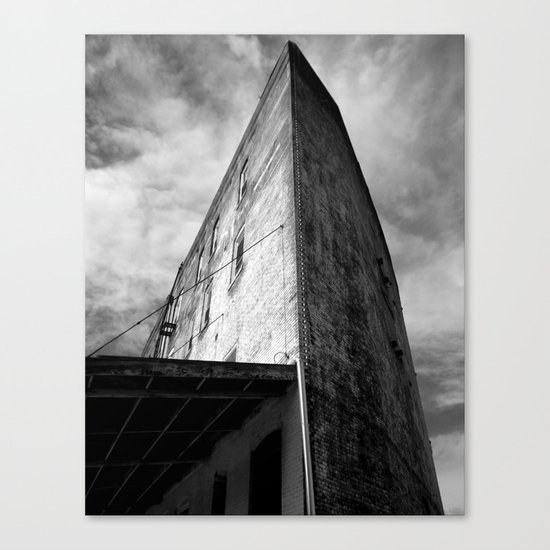 Westbottoms Old Curved Building Canvas Print