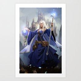 The Kingdom Sage Art Print