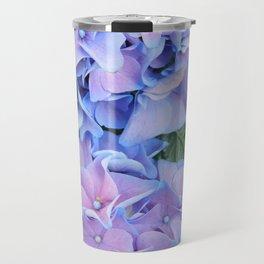 Blue hydrangea Travel Mug