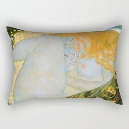 """Gustav Klimt """"Danaë"""" Rectangular Pillow"""