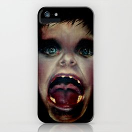 little big mouth iPhone Case