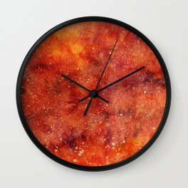 molten galaxy Wall Clock