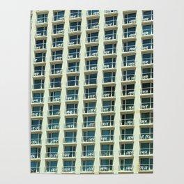 Tel Aviv - Crown plaza hotel Pattern Poster