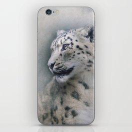 Snow Leopard profile iPhone Skin