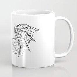 Polygonal Dragon Wings Coffee Mug