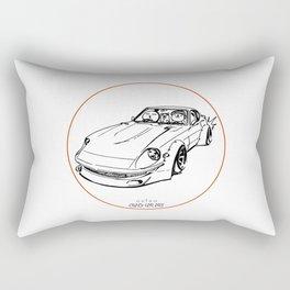 Crazy Car Art 0074 Rectangular Pillow