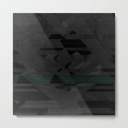 Acid Rain Metal Print