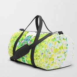 Green Butterfly Duffle Bag