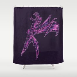 K is for Komodo Ballerina Shower Curtain