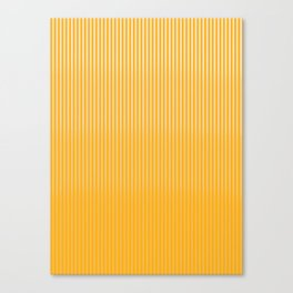 Copper Caramel Stripes Gradient Canvas Print