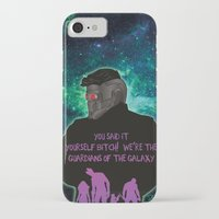 starlord iPhone & iPod Cases featuring Starlord by Dgrafiks