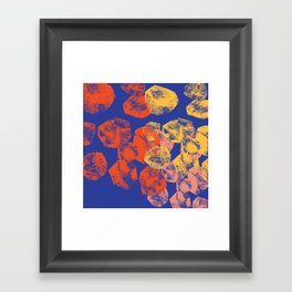 boulders Framed Art Print