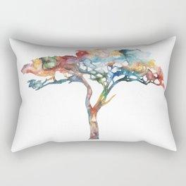 Acacia Tree Painting Rectangular Pillow