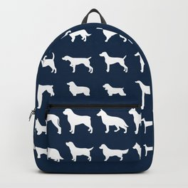 All Dogs (Navy) Backpack