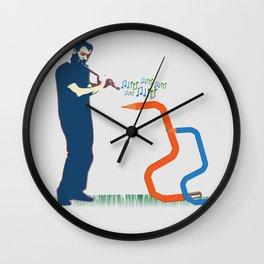 Creativity Charmer Wall Clock