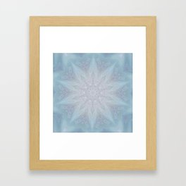 Blue Crown Framed Art Print