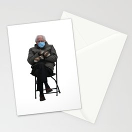 Bernie Sanders Sitting Meme  Stationery Cards