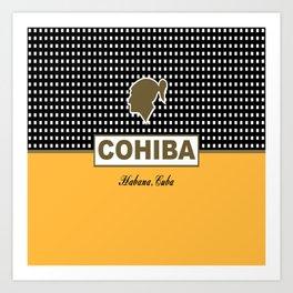 Cohiba Habana Cuba Cigar Art Print
