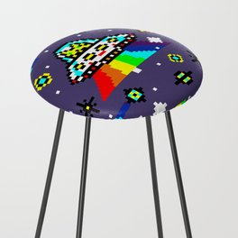 Cats Invaders Counter Stool