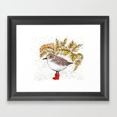 Birds Edition Framed Art Print