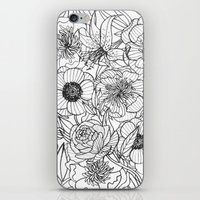oana befort iPhone & iPod Skins featuring FLORALS by Oana Befort