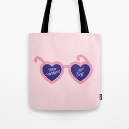 Throw Compliments Not Shade Tote Bag