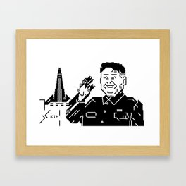 Kim Framed Art Print