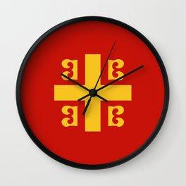 Flag of Byzantine Empire Wall Clock