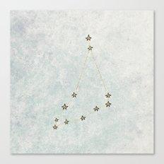 Capricorn x Astrology x Zodiac Canvas Print