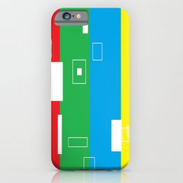 Simple Color Primary Colors iPhone Case