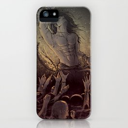 Rise of the Voiceless  iPhone Case
