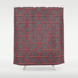 Gridlines Shower Curtain
