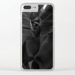 Through The Narrow Gap Clear iPhone Case
